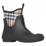 Flinton Check Waterproof Rain Boot