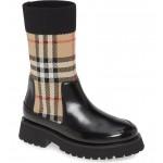 Sock Knit Chelsea Boot