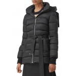 Limehouse Quilted Down Puffer Coat