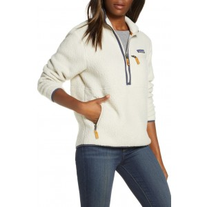 Retro Marsupial High Pile Fleece Pullover