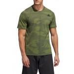 Camo Burnout Crewneck T-Shirt