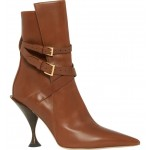 Hadfield Belted Pointy Toe Bootie