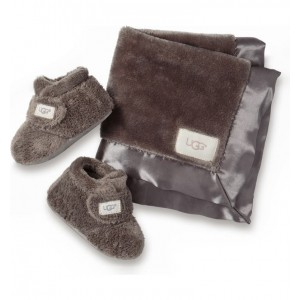 Bixbee Booties & Lovey Blanket Set