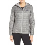 Nano Puff Hooded Water Resistant Jacket
