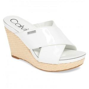 Jacolyn Wedge Slide Sandal