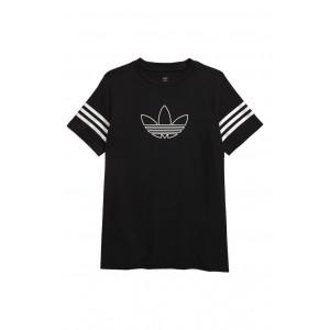 Trefoil Outline Graphic T-Shirt