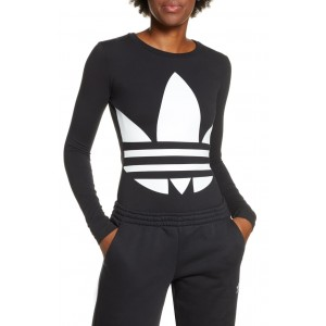 Large Logo Long Sleeve Bodysuit