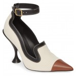 Brecon Ankle Strap Pointed Toe Pump