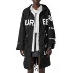 Polperro Horseferry Print Hooded Jacket