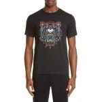 Gradient Tiger Graphic T-Shirt