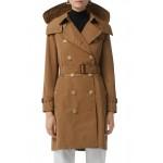 Kensington Trench Coat with Detachable Hood