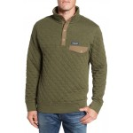 Snap-T Quilted Fleece Pullover
