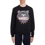 Classic Tiger Embroidered Crewneck Sweatshirt