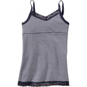 Girls Printed Lace-Trim Camis 30% Off Taken at Checkout