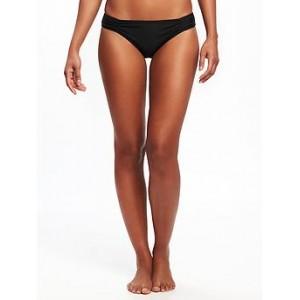 Ruched Bikini Bottoms for Women