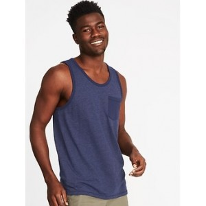 Regular-Fit Pocket Tank for Men
