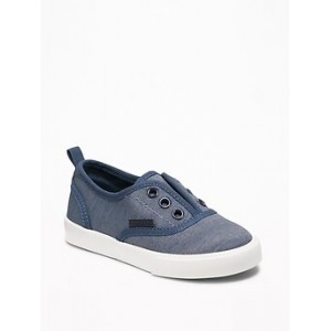 Canvas Laceless Sneakers for Toddler Boys 30% Off Taken at Checkout