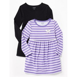 Babydoll Dress 2-Pack for Toddler Girls