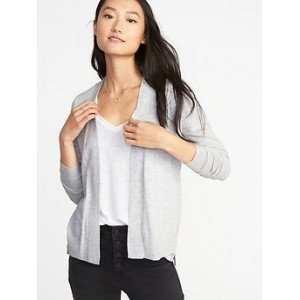 Short Open-Front Sweater for Women 30% Off Taken at Checkout