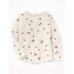 Printed Scoop-Neck Top for Toddler Girls Save More with Code THANKYOU