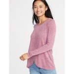 Maternity Wrap-Front Luxe Nursing Tee Best Seller