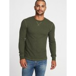 Soft-Washed Thermal Crew-Neck Tee for Men Savings Applied at Checkoutt