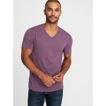 Soft-Washed Perfect-Fit V-Neck Tee for Men Hot Deal