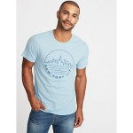 Graphic Soft-Washed Tee for Men Savings Applied at Checkoutt