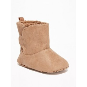 Sherpa-Lined Cozy Boots for Baby 30% Off Taken at Checkout