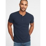 Soft-Washed Jersey Henley for Men Best Seller