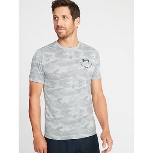 Go-Dry Eco Camo-Print Performance Tee for Men 30% Off Taken at Checkout