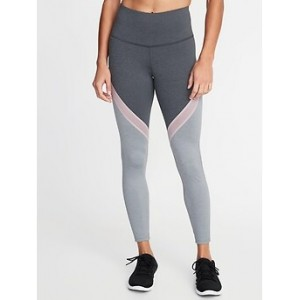 High-Rise Color-Block 7/8-Length Leggings for Women 30% Off Taken at Checkout