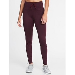 High-Rise Built-In Warm Plush-Knit Leggings for Women 30% Off Taken at Checkout