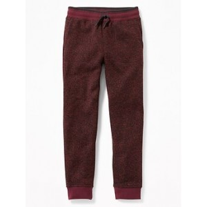 Sweater-Knit Fleece Joggers for Boys 30% Off Taken at Checkout