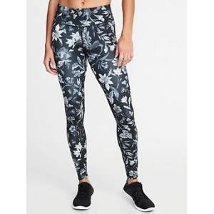 Mid-Rise Compression Run Leggings for Women 30% Off Taken at Checkout