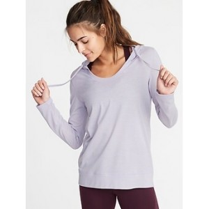 Relaxed Lightweight Performance Hoodie for Women Hot Deal