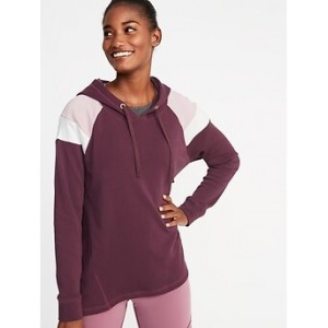 Color-Blocked Swing Hoodie for Women Hi, I'm New