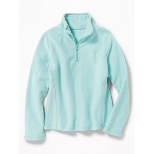 Relaxed Go-Warm 1/4-Zip Fleece Pullover for Girls 30% Off Taken at Checkout