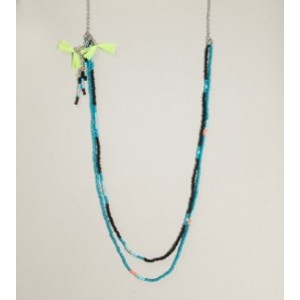AEO Beaded Tassel Necklace