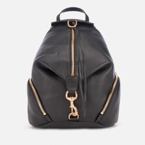 Rebecca Minkoff Womens Julian Backpack - Black