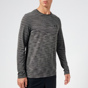Under Armour Mens Vanish Seamless Long Sleeve Top - Charcoal