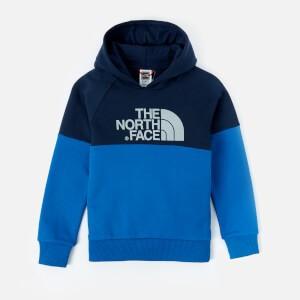 The North Face Boys Youth Drew Peak Raglan Hoody - Cosmic Blue