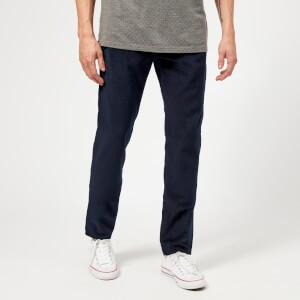 Ted Baker Mens Service Straight Fit Trousers - Dark Wash