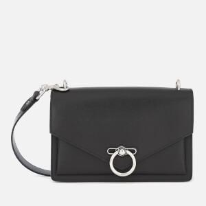 Rebecca Minkoff Womens Jean Medium Shoulder Bag - Black