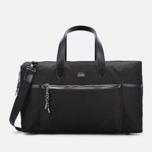 Ted Baker Mens Gatzbee Smart Nylon Holdall Bag - Black
