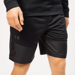 Under Armour Mens Terry Shorts - Black