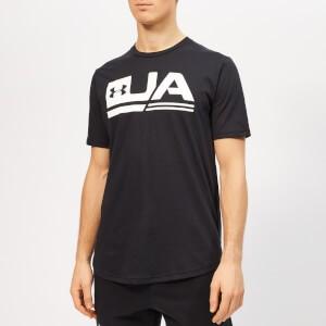 Under Armour Mens Sportstyle Short Sleeve Drop Hem T-Shirt - Black