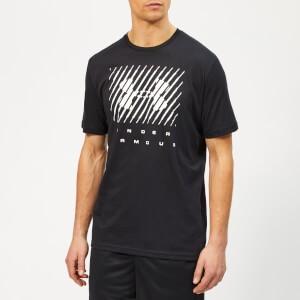 Under Armour Mens Branded Big Logo T-shirt - Black