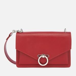 Rebecca Minkoff Womens Jean Medium Shoulder Bag - Scarlet