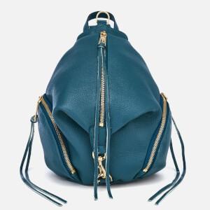 Rebecca Minkoff Womens Medium Julian Backpack - Sapphire